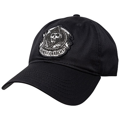 Sons Of Anarchy Adjustable Black Reaper Hat