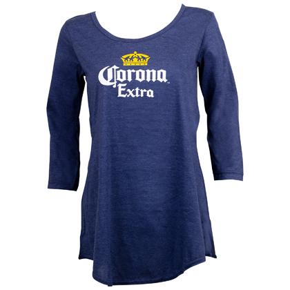 Corona Classic Logo Long Sleeve Women's Shirt