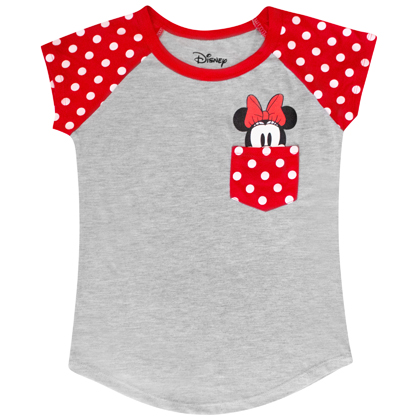 Minnie Mouse Youth Sized Pocket Tee