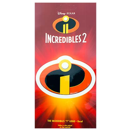 Disney Incredibles 2 Logo Decal Sticker