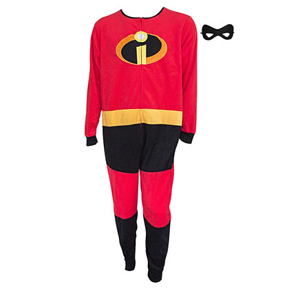 The Incredibles Costume Men's Pajamas Union Suit