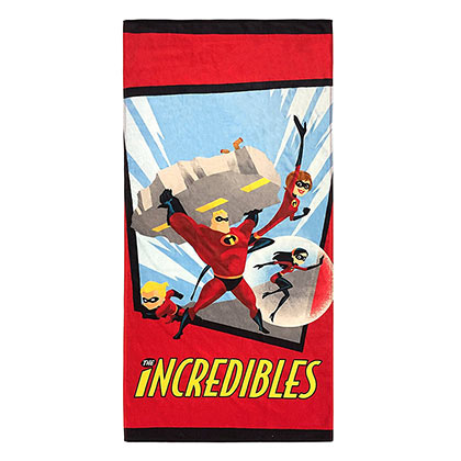 The Incredibles Family Beach Towel