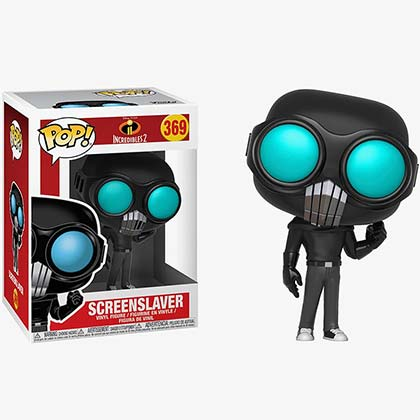 Incredibles 2 Screenslaver Funko Pop Vinyl Figure