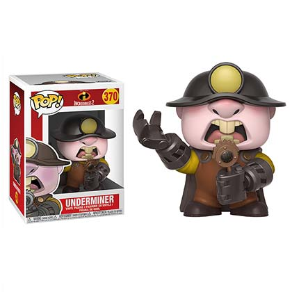 Incredibles 2 Underminder Funko Pop Vinyl Figure