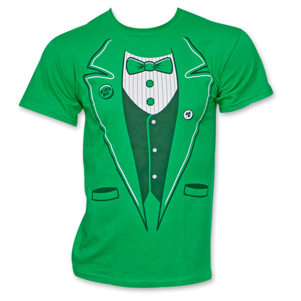 Irish Men's Tux Shirt - Green