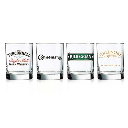 Irish Whiskey Four Pack Glasses