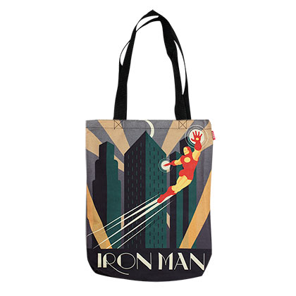 Iron Man Decoart Tote Bag