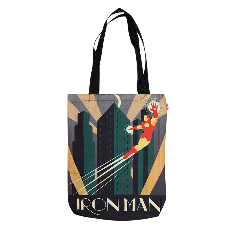 Iron Man Decoart Tote Bag