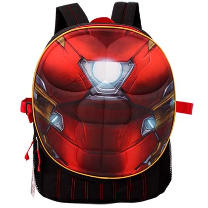 Iron Man Red Body Armor Backpack
