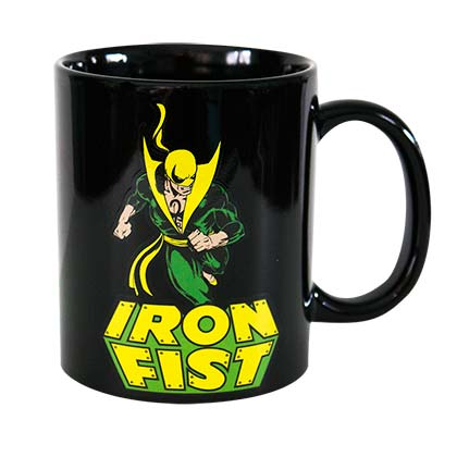 Iron Fist Black Logo Mug