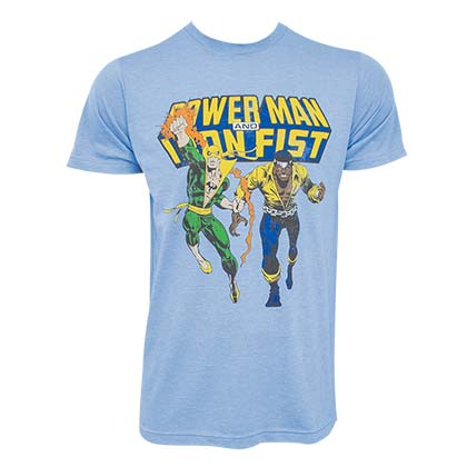 Iron Fist And Luke Cage Tee Shirt