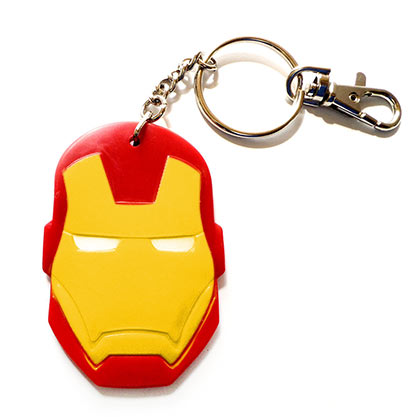 Iron Man Comic Bendable Keychain