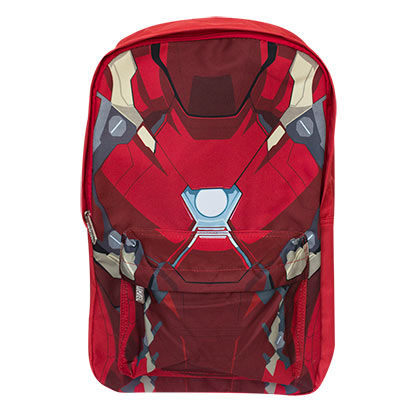 Iron Man Civil War Red Backpack