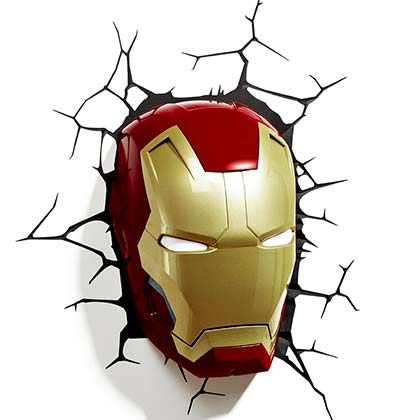 Iron Man Comic 3D Night Light