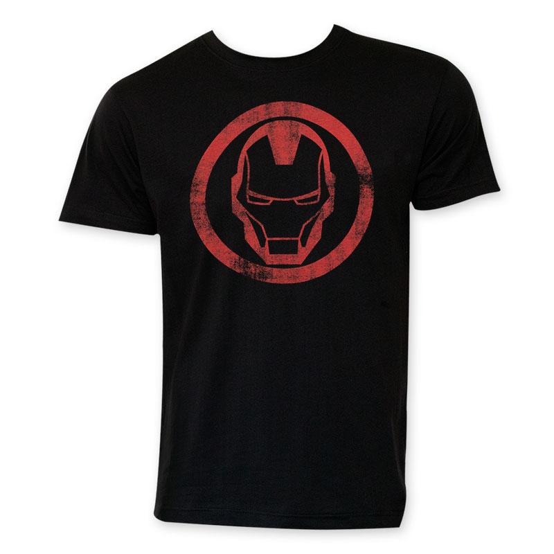 Iron Man Circle Logo T-Shirt