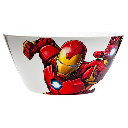 Iron Man Avengers Melamine Kids Soup Bowl