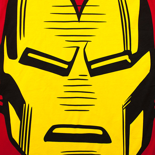 Iron Man Giant Face Tee Shirt