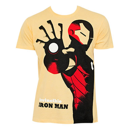 Iron Man Comic Michael Cho Yellow Shirt