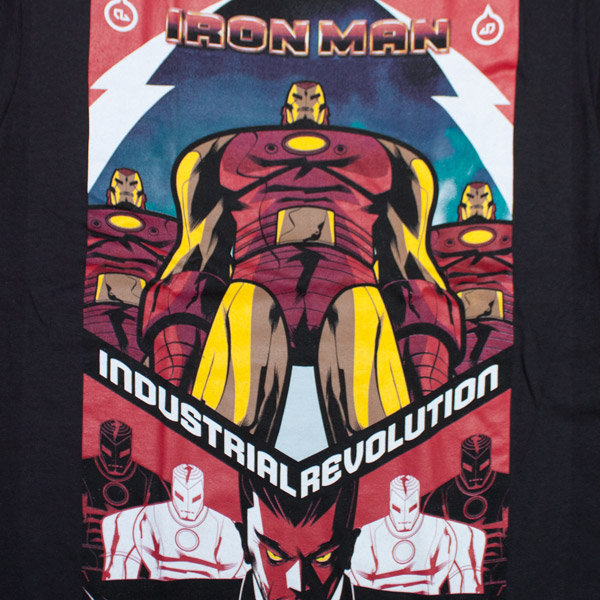 Iron Man Revolution Shirt Black