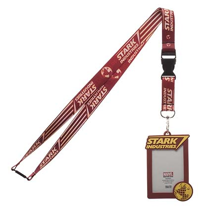 Iron man Stark Industries Lanyard with ID Holder