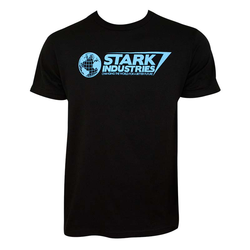 Iron Man Men's Black Stark Industries T-Shirt