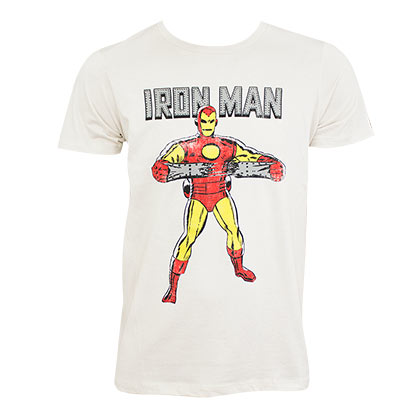 Wonder woman comic chain triangle bikini for Iron man shirt for men