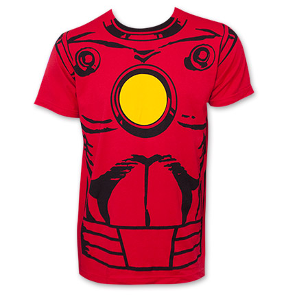 Iron Man Costume Tee Shirt - Sketch