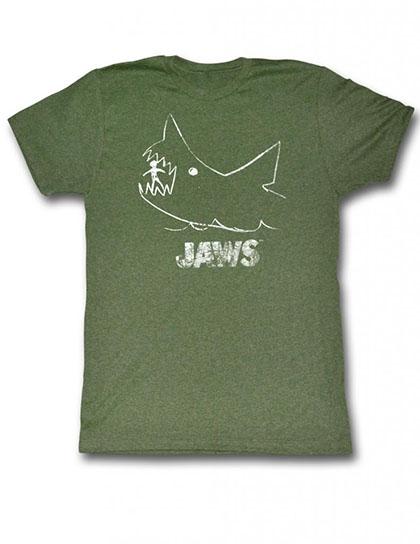 Jaws Chalkboard T-Shirt