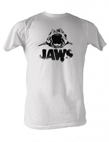 Jaws Black Logo T-Shirt