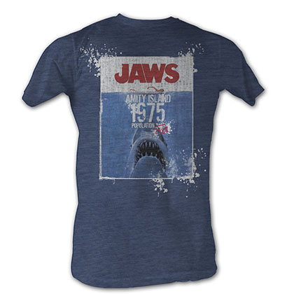 Jaws Jaws Population T-Shirt