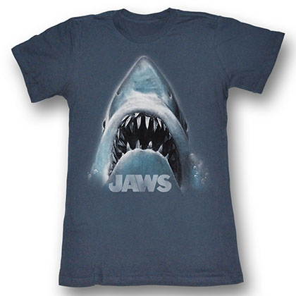 Jaws Shark Face T-Shirt