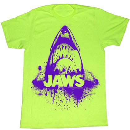 Jaws Purple T-Shirt