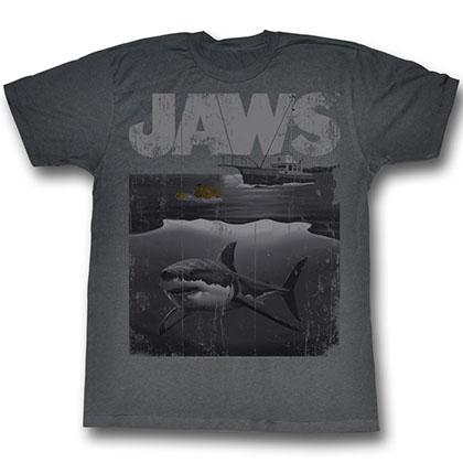 Jaws Shark Boat T-Shirt