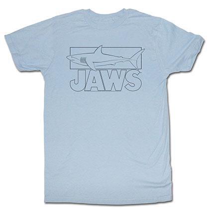 Jaws Line Shark T-Shirt