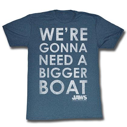 Jaws Bigger Boat T-Shirt