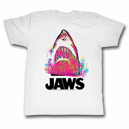 Jaws Jawzzz White TShirt