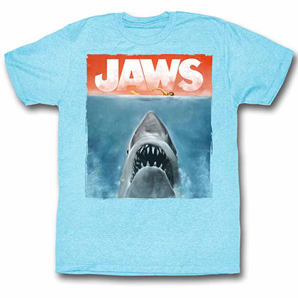 Jaws Colors Blue TShirt