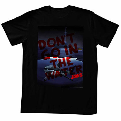 Jaws Don'T Go In Black TShirt