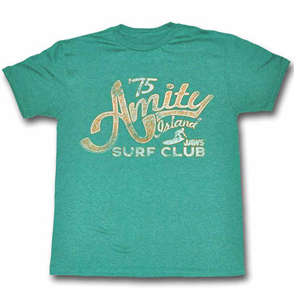 Jaws Amity Blue TShirt