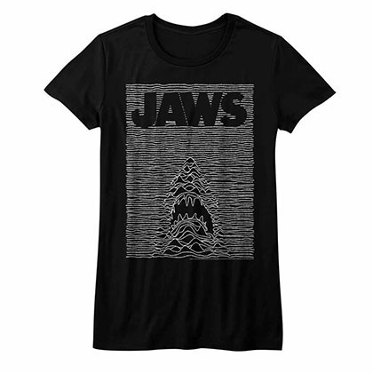 Jaws Jawdivision Black Juniors TShirt