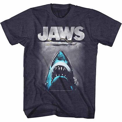 Jaws Lichtenstien2 Blue TShirt