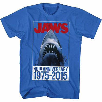 Jaws Forty Blue TShirt