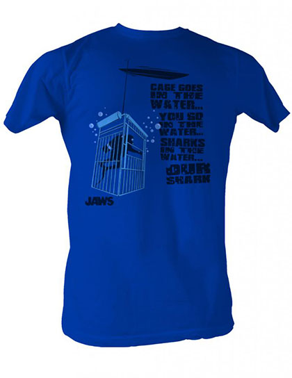Jaws Cage In The Water T-Shirt