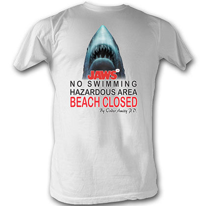 Jaws Beach Closed T-Shirt