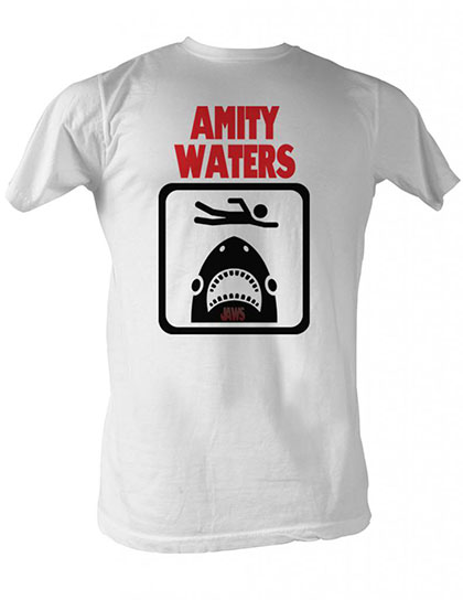 Jaws Amity Waters T-Shirt