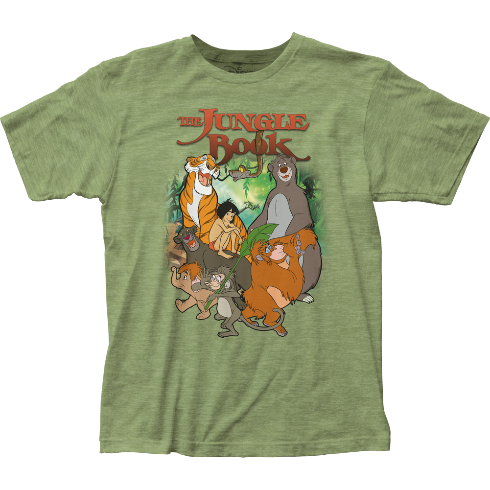 The Jungle Book Cover Tshirt