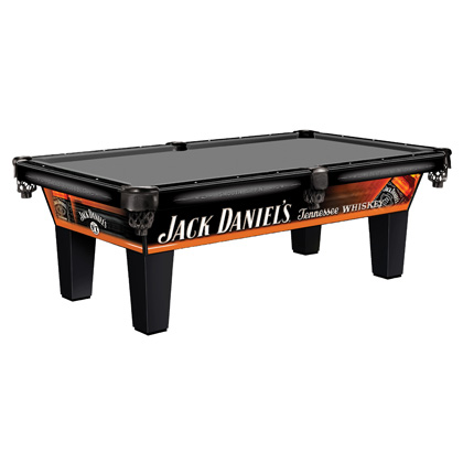 Jack Daniel's 8 Foot Pool Table