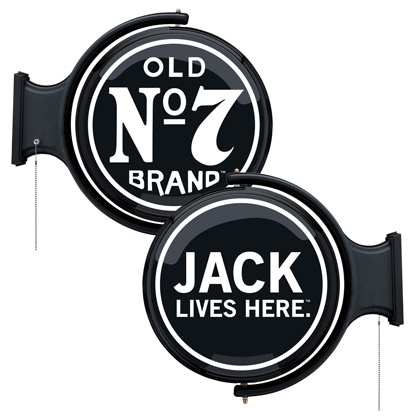 Jack Daniel's Old Rotating Pub Light