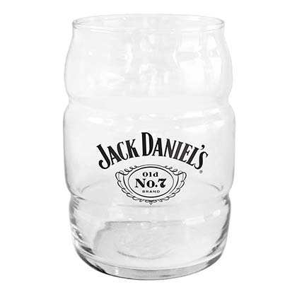 Jack Daniels Clear No. 7 Barrel Pint Glass