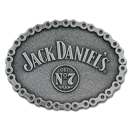 Jack Daniels No. 7 Bike Chain Belt Buckle